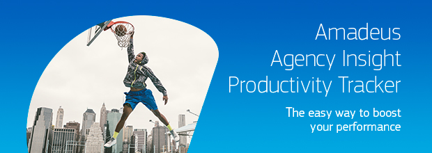 Amadeus Agency Insight Productivity Tracker banner